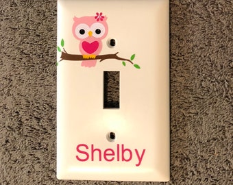 Personalized Switch Cover