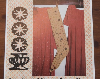 A Primitive Stocking by Carriage House Samplings