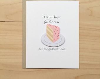 Funny Congratulations Card, Funny Wedding Card, Funny Graduation Card, Funny Baby Shower Card