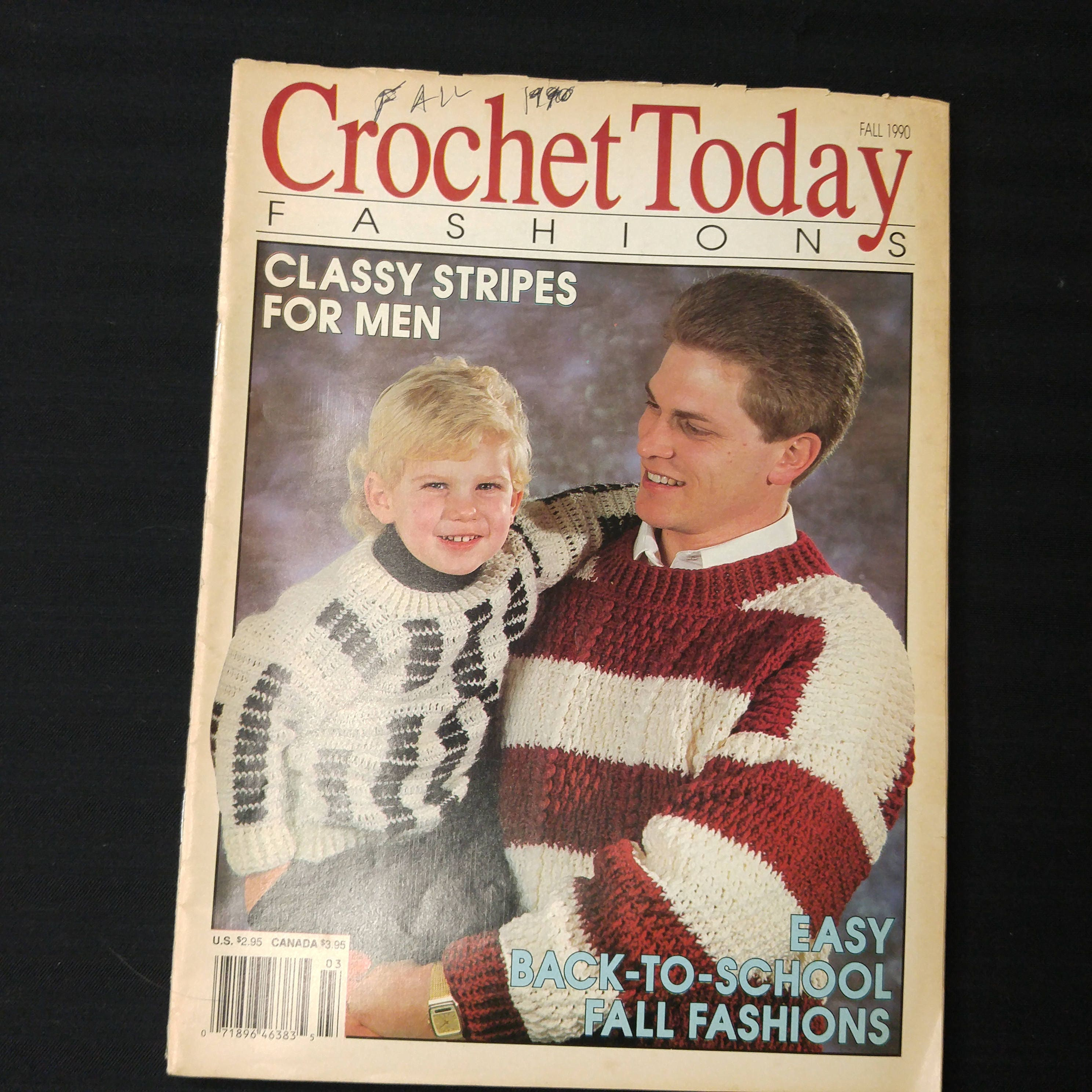 Lot of 9 1980s 1990s Crochet Today Pattern Books Instructions Baby ...