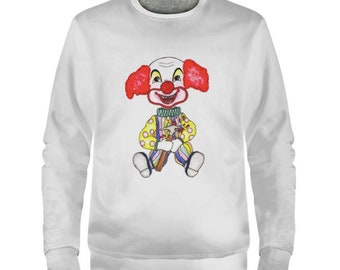 Creepy Clown Sweater