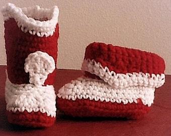 Crochet Baby Uggs