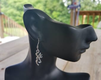 Browning dangle earrings (no bead)