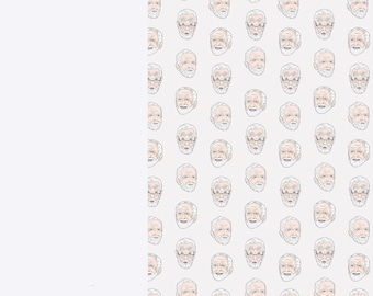 Luxury Wrapping Paper Sheets   A3 Gift Wrap   29.7 x 42.0CM Sheets   Jeremy Corbyn Inspired