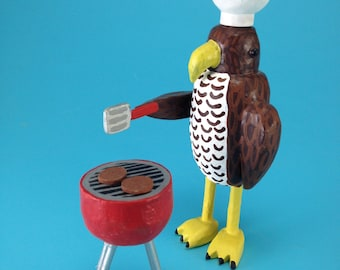 Barbecuing Hawk
