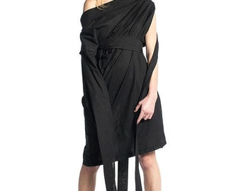 Dresses on sale New Collection Extravagant Black Shirt, Black Tunic, Black All Season Tunic, Over Sized Top, Maxi Tunic, Asymmetrical Tunic