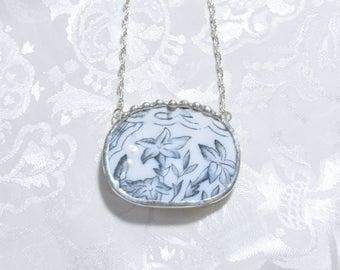 Broken China Necklace