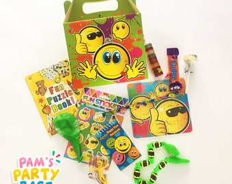 Pre-filled Smiley Face Party Boxes