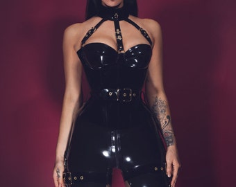 Pony Girl Buckle-Up Set by Lady Lucie Latex