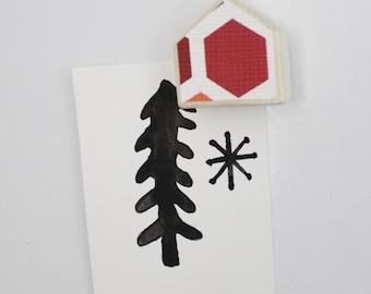 Red magnet, Wooden magnet, Party favor magnet, House magnet, Wedding magnet, Board magnet, Office magnet, Custom magnets, Gift for him