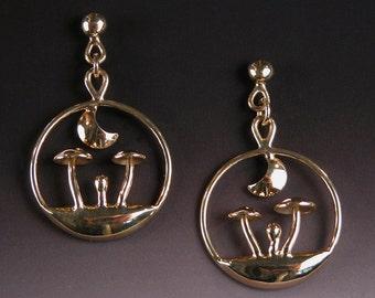 Earrings in 18 karat Gold OCTOBER NIGHT