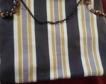 Stripe Cosmetic bags