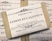 Lemon Eucalyptus Soap, Ha...
