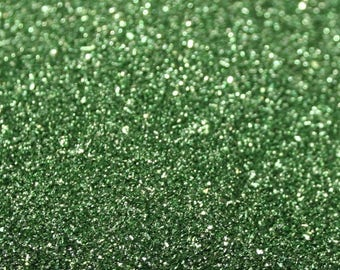 German Glass Glitter - Green - #90 Fine Grit