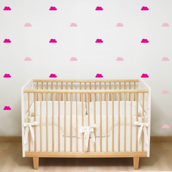 ... Sky Wall Decal Cloud Pattern Decal. $16.00. Shipping ...  sc 1 st  Kirigamia & Cloud Nursery Decal Clouds Wall Decal Cloud Decals Sky Wall Decal ...