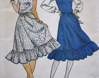 Butterick 4205 Sewing Pattern, Jumper or Dress Pattern, Multi Size 18-20-22 UNCUT