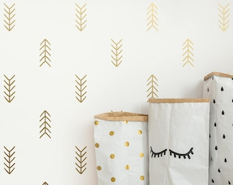 Arrow Wall Decals - Tribal Arrow Decals, Geometric Decals, Nursery Decals, Unique Vinyl Decals, Modern Wall Decals, Arrow Decals