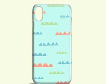 Pastel bushes iPhone X case / cute iPhone 8 / 8 Plus / iPhone 7 Plus / Pastel iPhone 6 / geometric iPhone 6 case / graphic iPhone 6 case