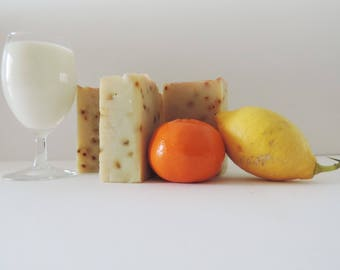 Citrus SOAP for a busy fruit! -7% superfat