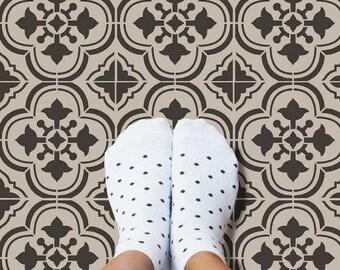 Santa Ana Tile Stencil - Portuguese Tile Stencils - DIY Faux Tiles - Reusable Stencils for Easy and Fun DIY Home Decor