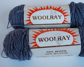 2 skeins Woolray Plymouth