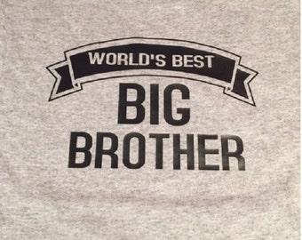 New BIG BROTHER shirt new sibling shirt New big brother tshirt  big brother t-shirts