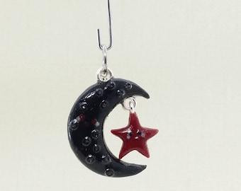 Black moon charm