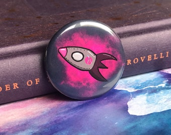 HEDG Rocket - Pin/Badge