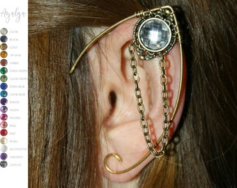 elven ear cuffs - ear cuff - elf ears - more than 10 colours available- statement jewelry- statement jewelry