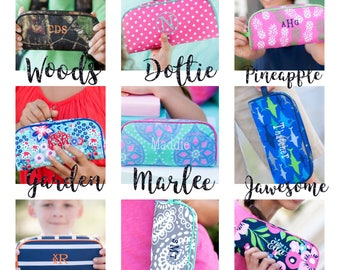 Kids pencil pouch , school pencil case , personalized pencil holder , stephen personalized kids bag
