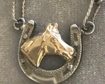 Elk Creek Sterling 14k Goldfilled Horse Bracelet