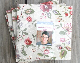 "Jardin de Versailles by French General for Moda Layer Cake 10"" Squares"