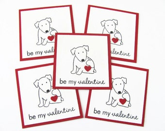 Dog Valentine Cards, Kids Valentine Cards, Valentines For Kids, Mini Valentines Day Cards, Valentine Cards, Kids Valentine's Day Card Set