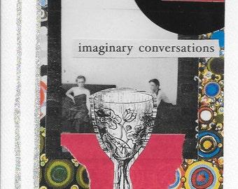 imaginary conversations greeting card