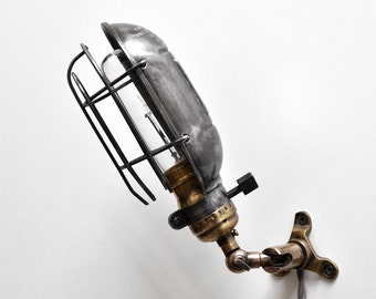 Modern Brass Swing Arm Sconce Two Three Or Four Foot