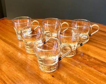 Vintage Libbey Cup Set