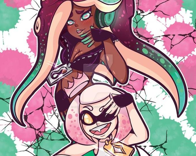 Pearl and Marina 11X17