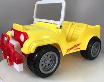 1987 Vintage Baywatch Barbie Jeep 80s Toys