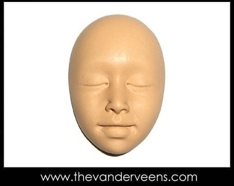 Mold No.2 (Face- Asian looking) by Veronica