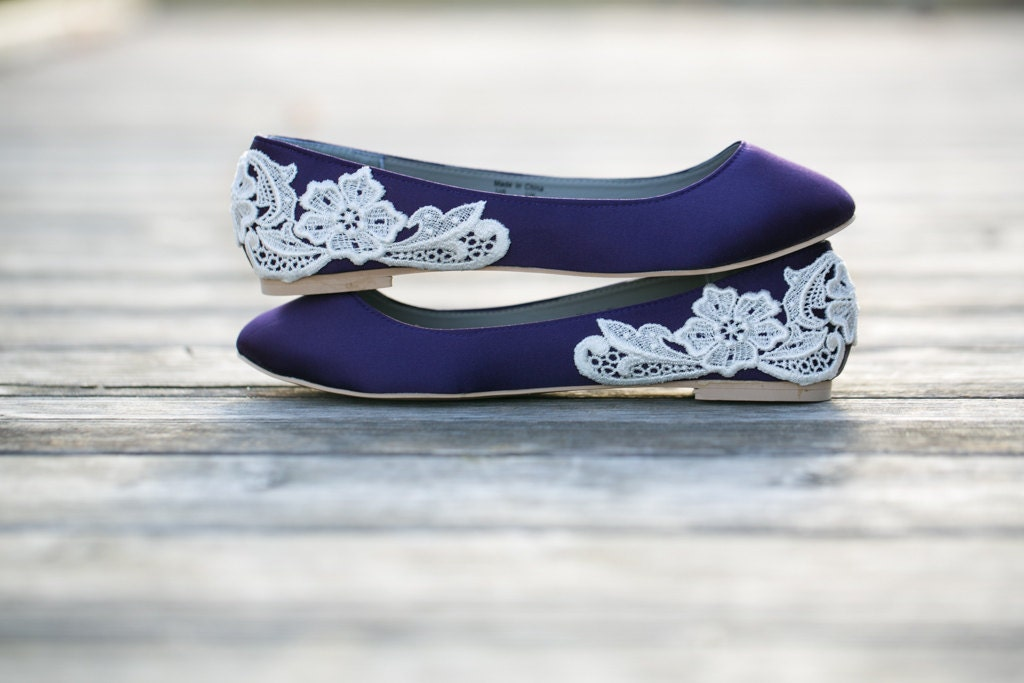 Purple FlatsPurple Wedding Shoes FlatsFlat