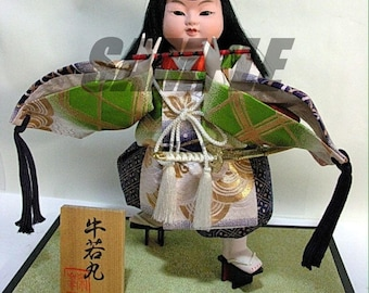 Digital Printable Japan Doll for Cards, Stickers, Print and Graphic Art