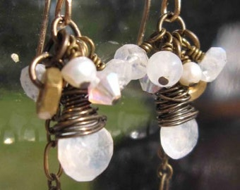 fatdog Toolbox Collection Earrings - TBE218 Moonstone