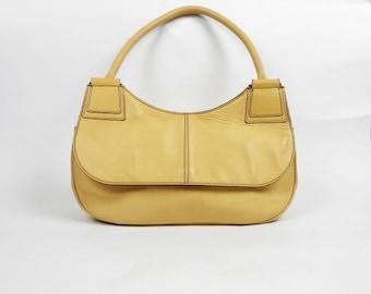 Vintage Nannini Bag, Genuine Leather, Italian Handbag
