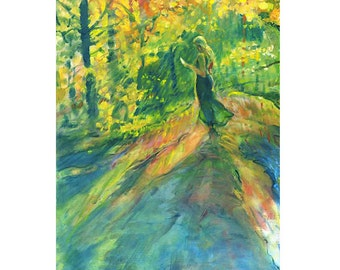 Jolie Giclee Fine Art Print of Original Oil Painting
