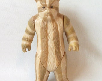 Vintage Star Wars Ewok Medicine Man Action Figure 1983