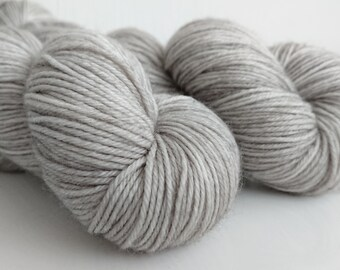 "75/25% Superfine Merino / Nylon 4-ply ""Steel"""