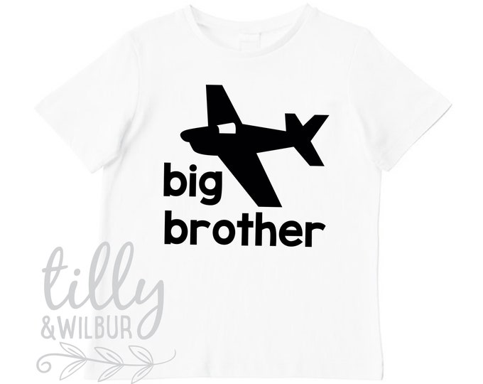 Big Brother T-Shirt With Plane