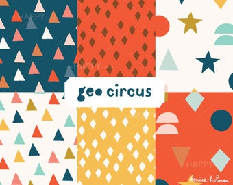 Geo Circus Pattern