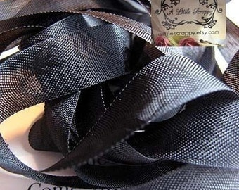 Rayon Seam Binding Ribbon Black