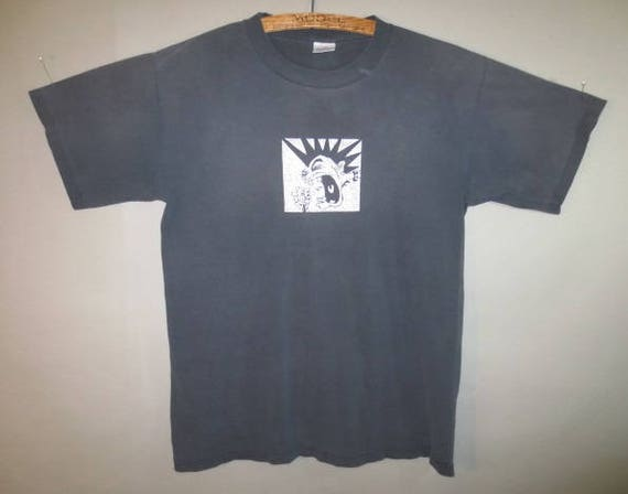 Rancid T Shirt, Murina Label, Made in USA // Faded...large